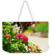 Multicolored Flowers Weekender Tote Bag