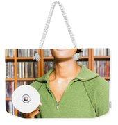 Multimedia Buff Or Computer Geek Weekender Tote Bag