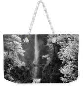 Multnomah Falls Bw Weekender Tote Bag