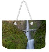 Multnomah Falls In Oregon State. Weekender Tote Bag