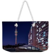 Munich - Olympictower And Village Weekender Tote Bag