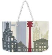 Munich Skyline Poster Weekender Tote Bag