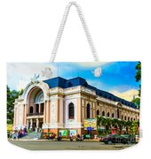 Municipal Theater Ho Chi Minh City Vietnam Weekender Tote Bag