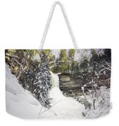 Munising Fall Upper Michigan Weekender Tote Bag