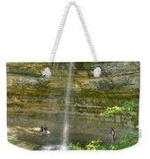 Munising Waterfall Weekender Tote Bag