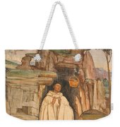 Mural Church Art Weekender Tote Bag