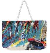 Mural Del Mar Race Track Weekender Tote Bag