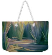 Mural Field Of Feathers Weekender Tote Bag