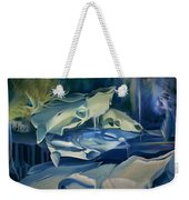 Mural Skulls Of Lifes Past Weekender Tote Bag