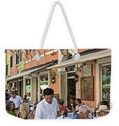 Murano Cafe Weekender Tote Bag