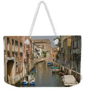 Murano Canal 4329 Weekender Tote Bag