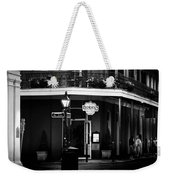 Muriel Evening In Black And White Weekender Tote Bag