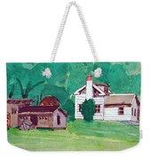 Murray Hill Watercolor Weekender Tote Bag