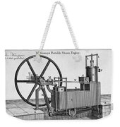 Murrays Portable Steam Engine, 19th Weekender Tote Bag