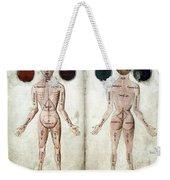 Muscle Man, Brains Ventricles, 15th Weekender Tote Bag