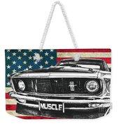 Muscle Us Mustang Weekender Tote Bag