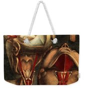 Muscles Of Eye And Larynx, Illustration Weekender Tote Bag
