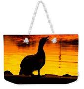 Muscovy Sunset Weekender Tote Bag