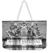 Musei Vaticani Weekender Tote Bag by Stefano Senise