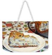 Mushroom And Crab Savory Cheesecake Weekender Tote Bag