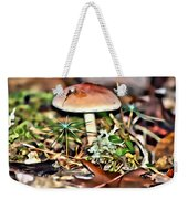 Mushroom And Moss Weekender Tote Bag