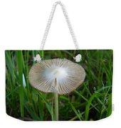 Mushroom In The Grass Weekender Tote Bag
