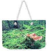 Mushroom In The Green Wood Weekender Tote Bag