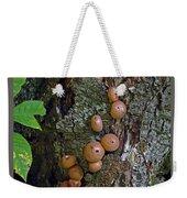 Mushroom Tree Trunk Weekender Tote Bag