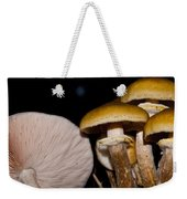 Mushrooms At Sundown Weekender Tote Bag