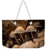 Mushrooms Hidden Between The Leaves Weekender Tote Bag