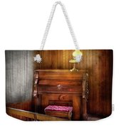 Music - Organist - A Vital Organ Weekender Tote Bag by Mike Savad