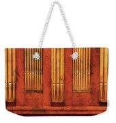 Music - Organist - Skippack  Ville Organ - 1835 Weekender Tote Bag