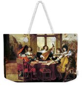 Music, 17th Century Weekender Tote Bag