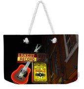 Music City Nashville Weekender Tote Bag by Susanne Van Hulst