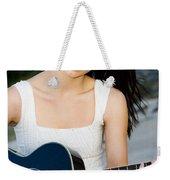 Music Girl Weekender Tote Bag