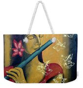 Music In Silence Weekender Tote Bag