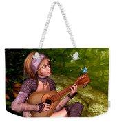 Music In The Woods Weekender Tote Bag