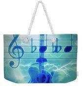Music Is Everything Lightning Weekender Tote Bag