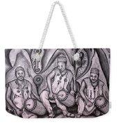 Music-making For Cosmic Unity #1 Weekender Tote Bag