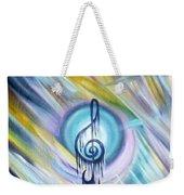 Music Reflexion Weekender Tote Bag