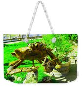 Musical Crab Weekender Tote Bag