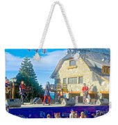 Musical Entertainment In Central Park In Bariloche-argentina Weekender Tote Bag