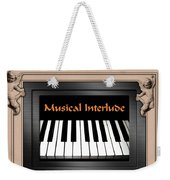 Musical Interlude Weekender Tote Bag