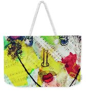 Musical Lady Weekender Tote Bag