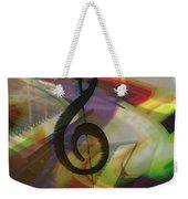 Musical Waves Weekender Tote Bag