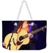 Musician Rosanne Cash Weekender Tote Bag