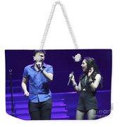 Musicians Michael And Marisa Weekender Tote Bag