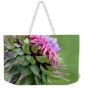 Musk Thistle In Bloom Weekender Tote Bag