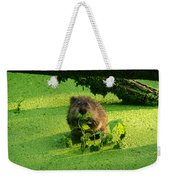 Muskrat Susie Or Muskrat Sam Weekender Tote Bag