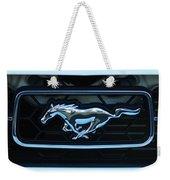 Mustang Emblem Weekender Tote Bag
